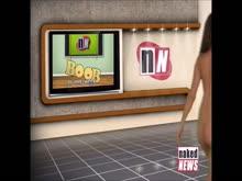Mulheres peladas em programas de tv