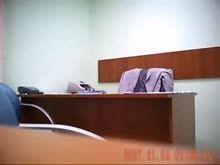Caiu na net colegas de trabalho fodendo no escritorio