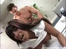 Sexo anal com negra