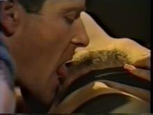 Sexo porno antigo com peluda arreganhada