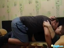 Comendo a esposa na webcam
