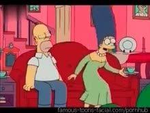 Simpsons Versão porno Sexo anal