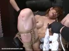 Bondage japa amarrada